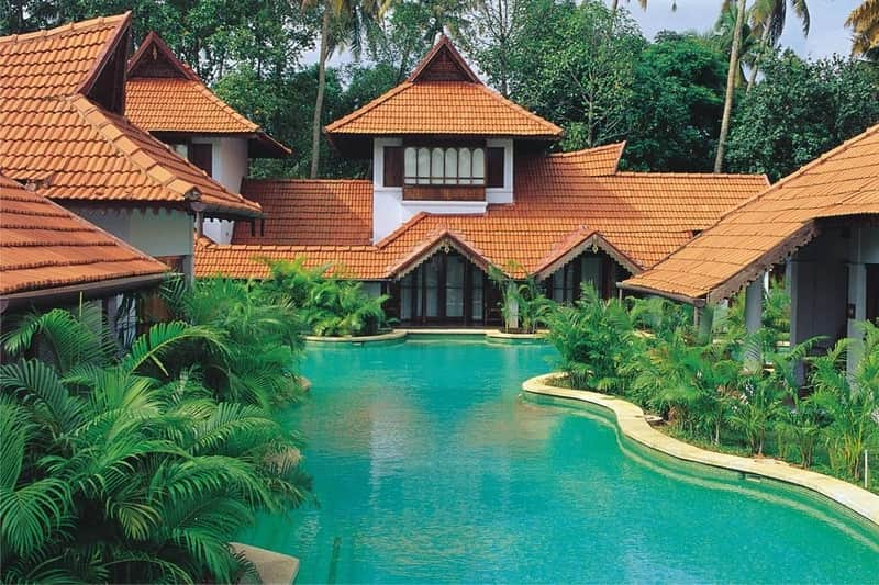 Kumarakom Lake Resort is one of the best in Kerala