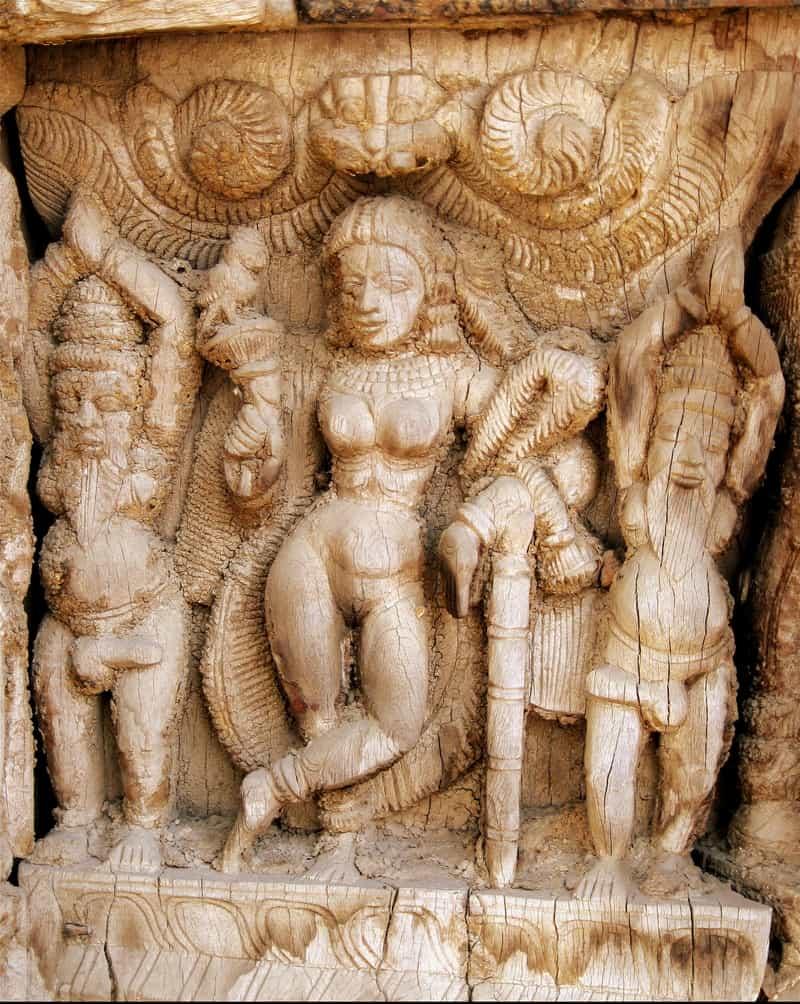 Lord Vishnu in Mohini Avatar