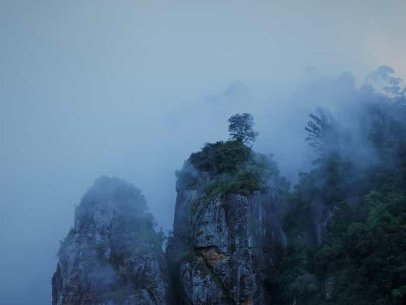 Mist on Pillar Rocks