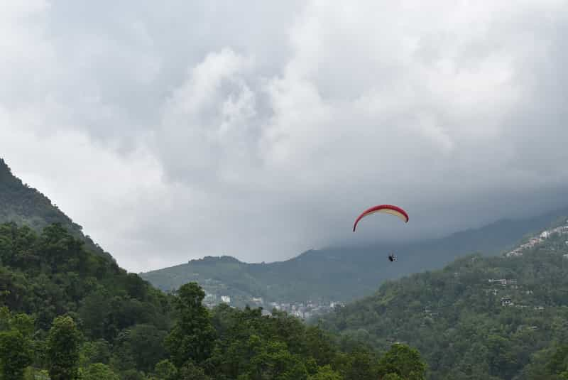Paragliding in Gangtok