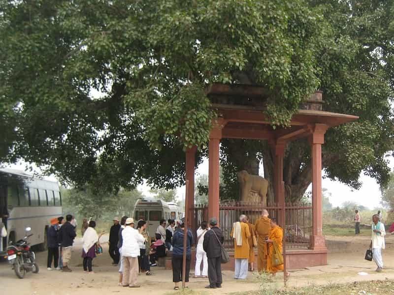 Pilgrims at Sankassa
