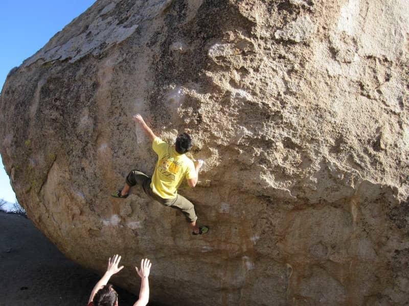 Rock Climbing in Hampi