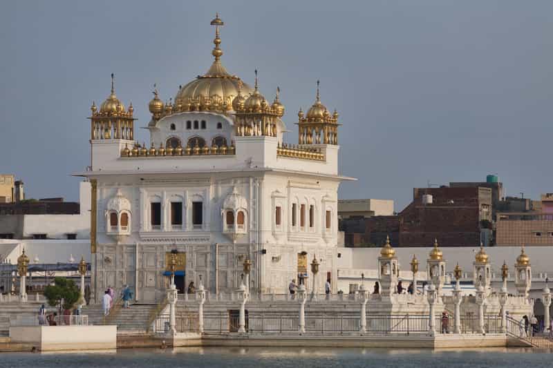 Sikh temple in Tarn Taran Sahib