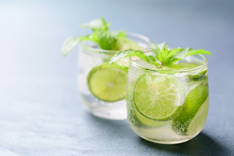 Soda Lime Water
