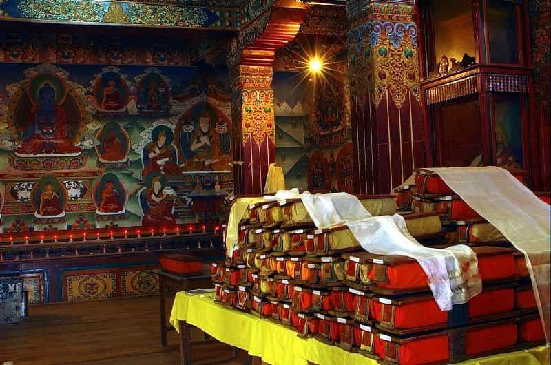 Tawang Monastery Library