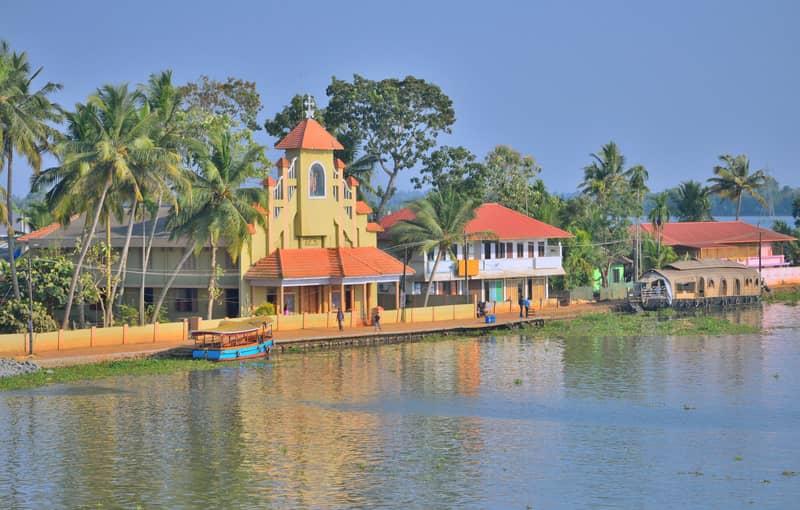 The Kuttanad Backwaters