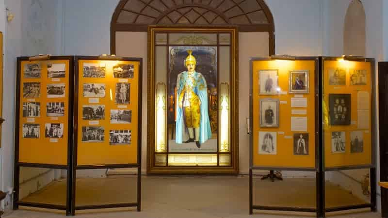 The Nizam's Museum has items from across the world