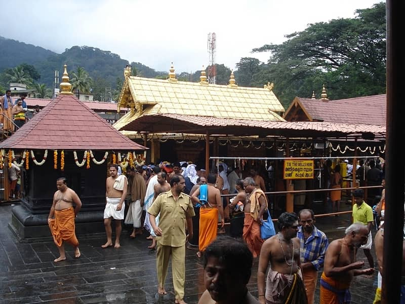 The Sabarimala Temple