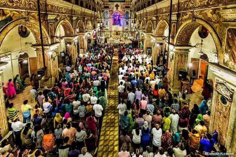 Easter Mass in India