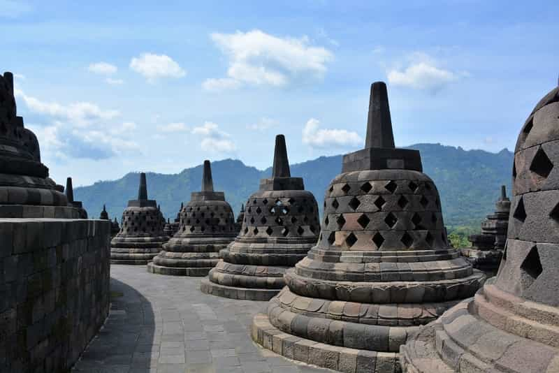 A Tourist Attraction in Indonesia