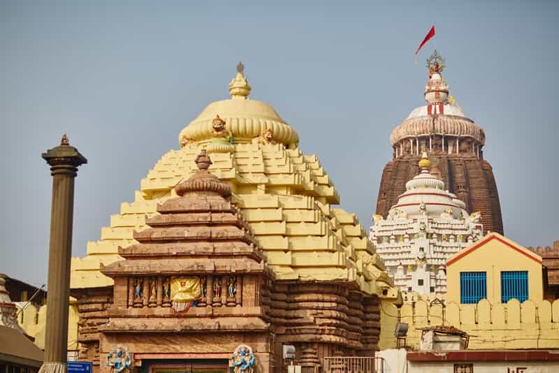 A Temple in Puri