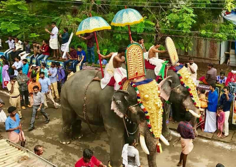 An Onam Procession