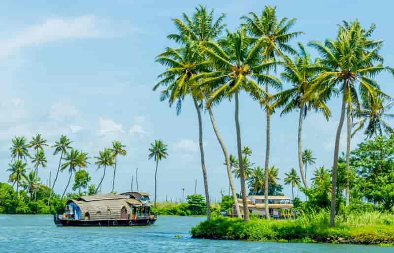 Ride a Houseboat in Alleppey