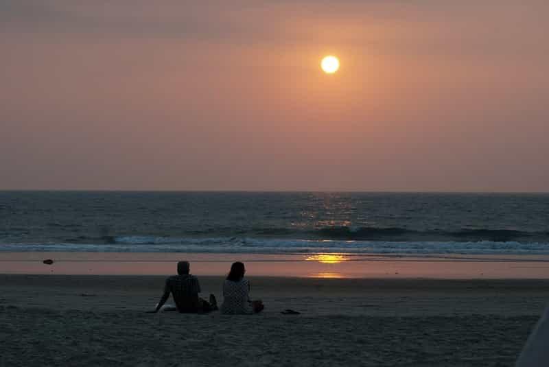Couple on a Beach in Goa