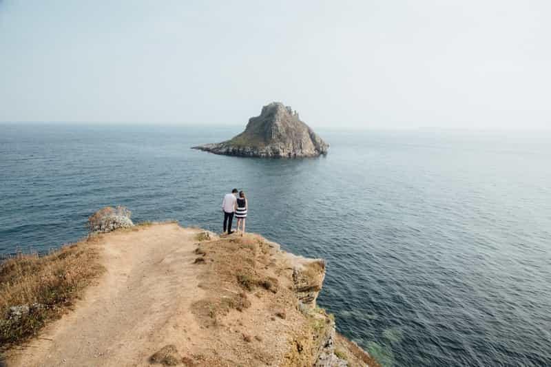 A Couple on Honeymoon in Andaman Islands