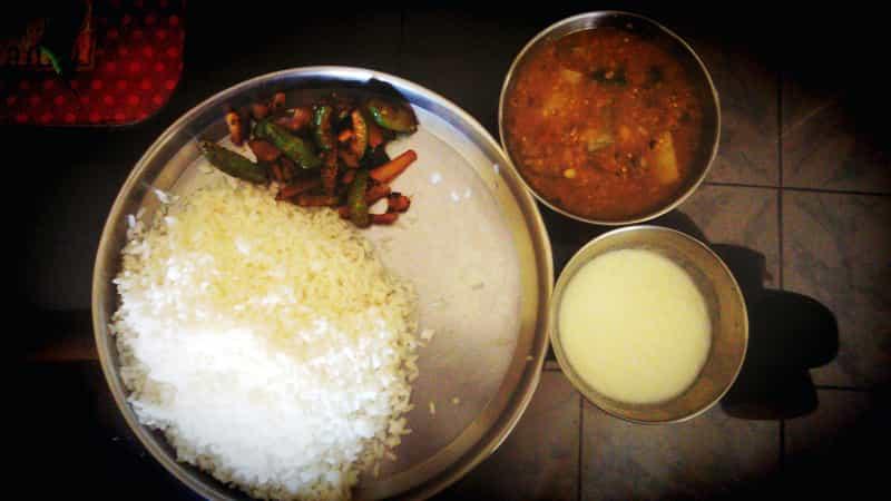 Dalma with Rice