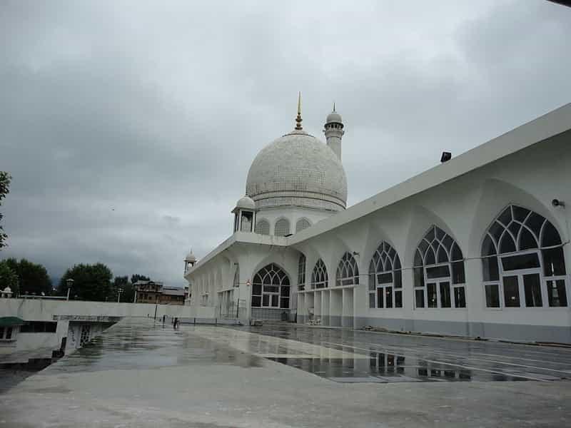 The Hazratbal Mosque