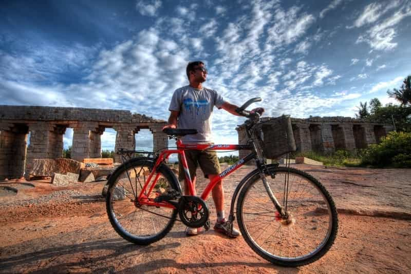 Explore Hampi on a Cycle