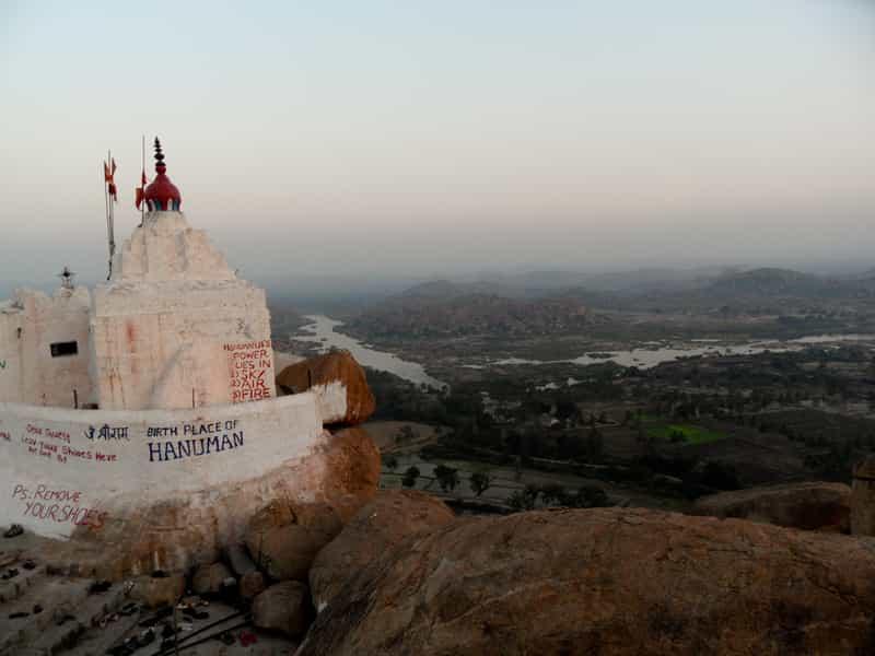 Monkey Temple, Hampi