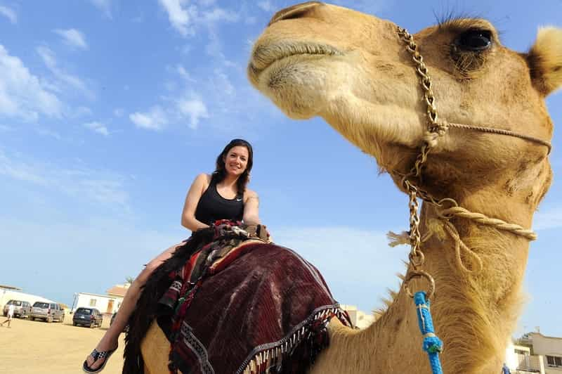 Camel Rides in the Desert at Jaisalmer