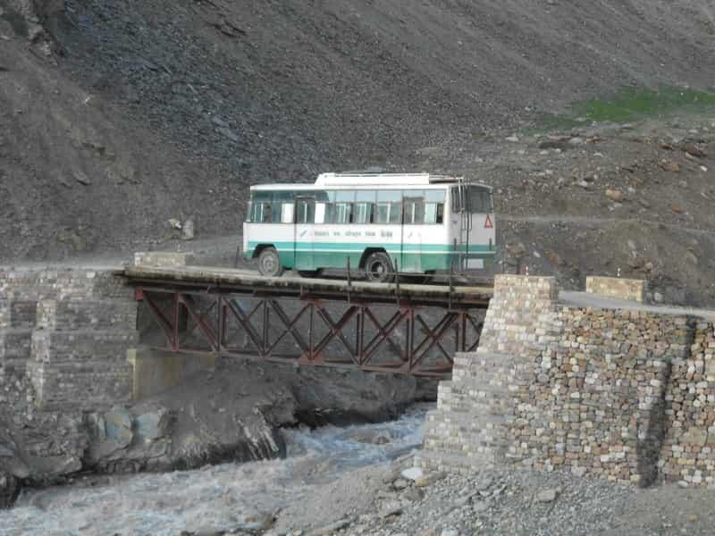 The HRTC bus