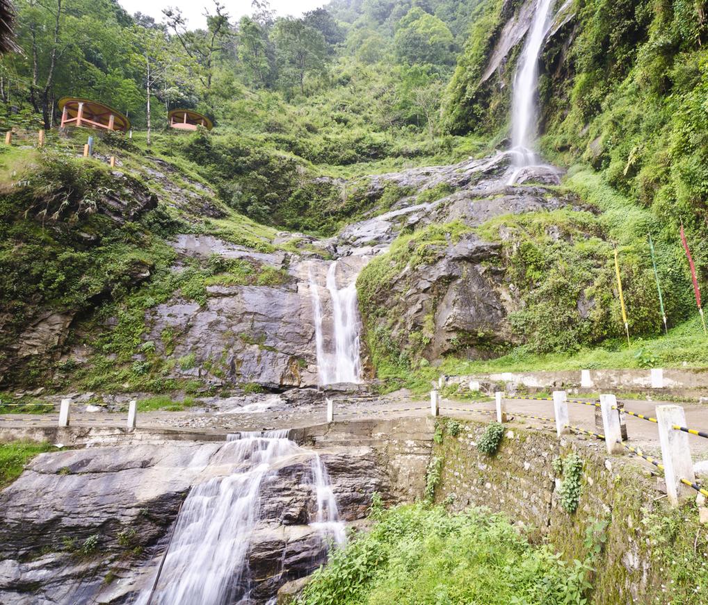 Changey Waterfalls, Pelling