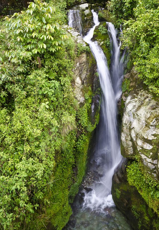 Rimbi Waterfalls, Pelling